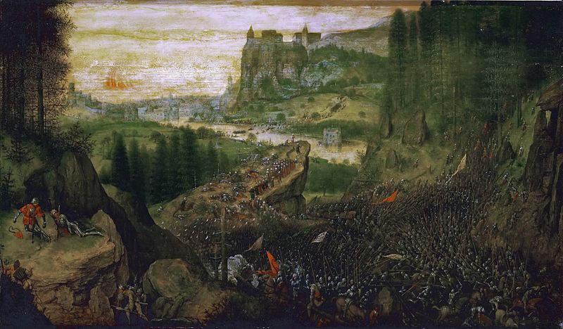 Пионер жанровой живописи - Питер Брейгель Старший (Pieter Bruegel) 20
