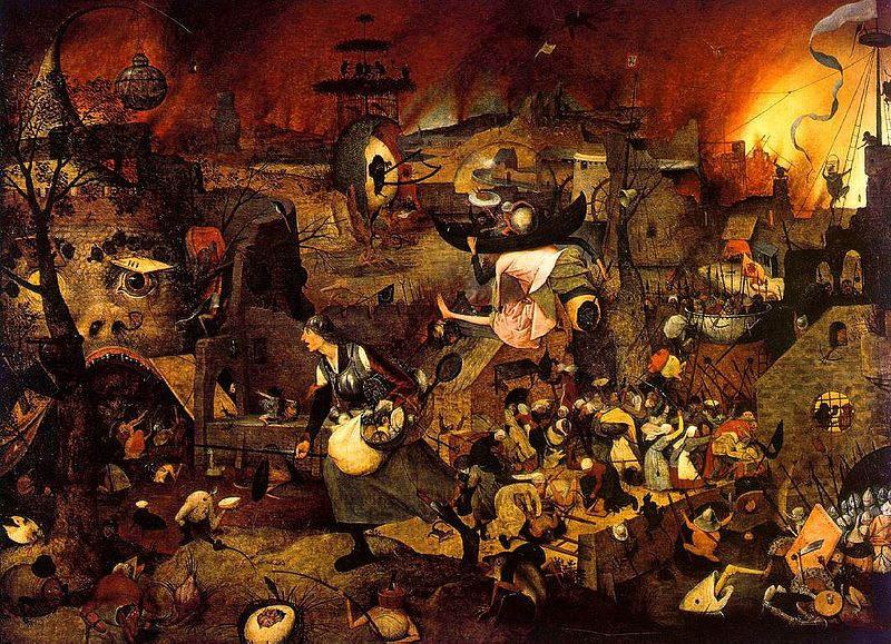 Пионер жанровой живописи - Питер Брейгель Старший (Pieter Bruegel) 22