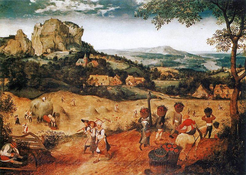 Пионер жанровой живописи - Питер Брейгель Старший (Pieter Bruegel) 23