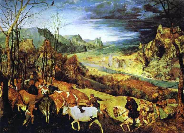 Пионер жанровой живописи - Питер Брейгель Старший (Pieter Bruegel) 24
