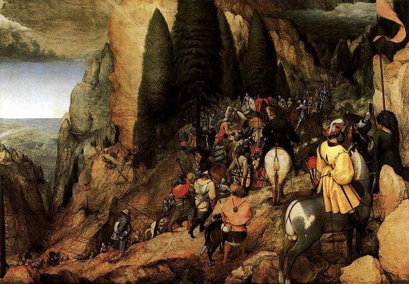 Пионер жанровой живописи - Питер Брейгель Старший (Pieter Bruegel) 27