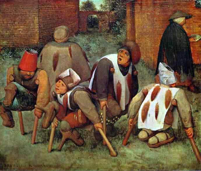 Пионер жанровой живописи - Питер Брейгель Старший (Pieter Bruegel) 30