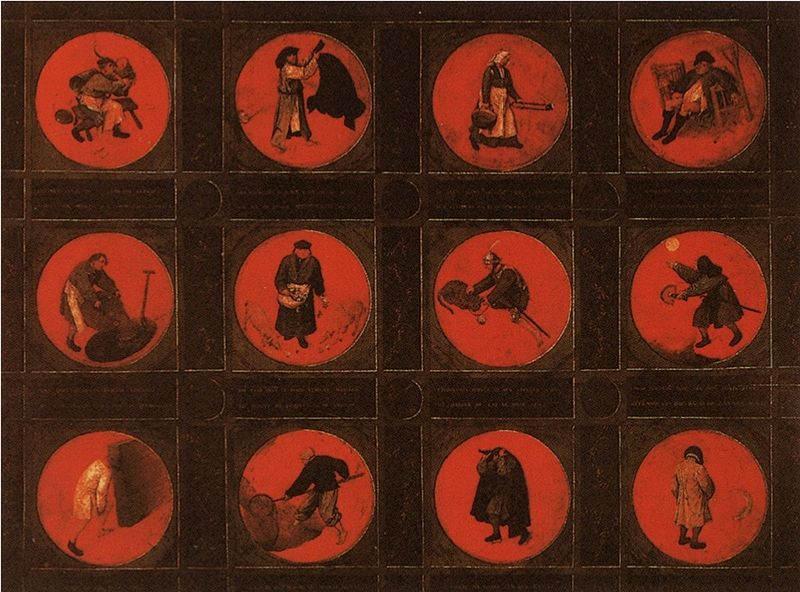 Пионер жанровой живописи - Питер Брейгель Старший (Pieter Bruegel) 5