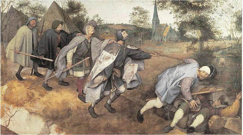 Пионер жанровой живописи - Питер Брейгель Старший (Pieter Bruegel) 9