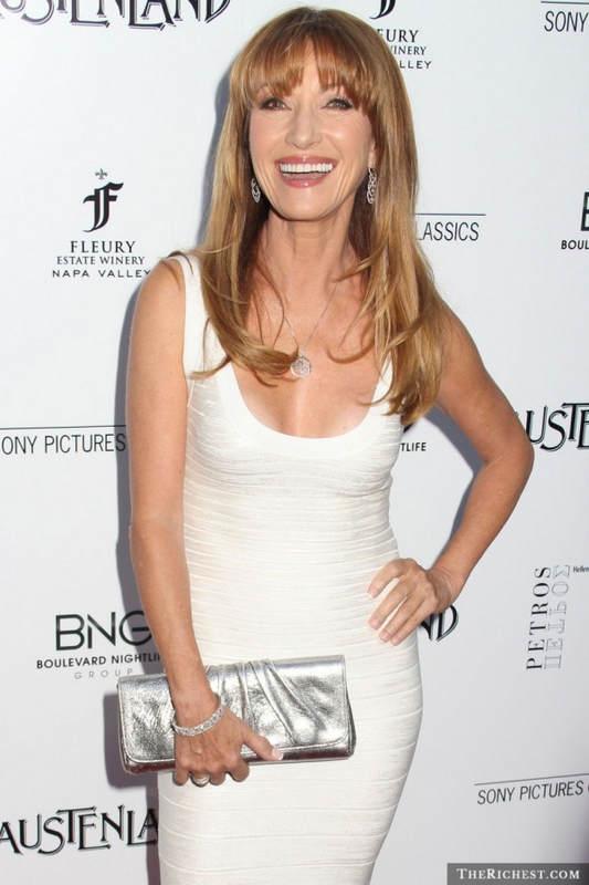 Самые сексуальные знаменитости, старше 50 Джейн Сеймур