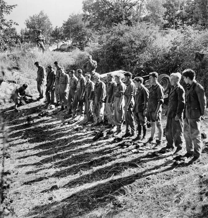 Вторая мировая война в объективе Роберт Капа (Robert Capa) 11
