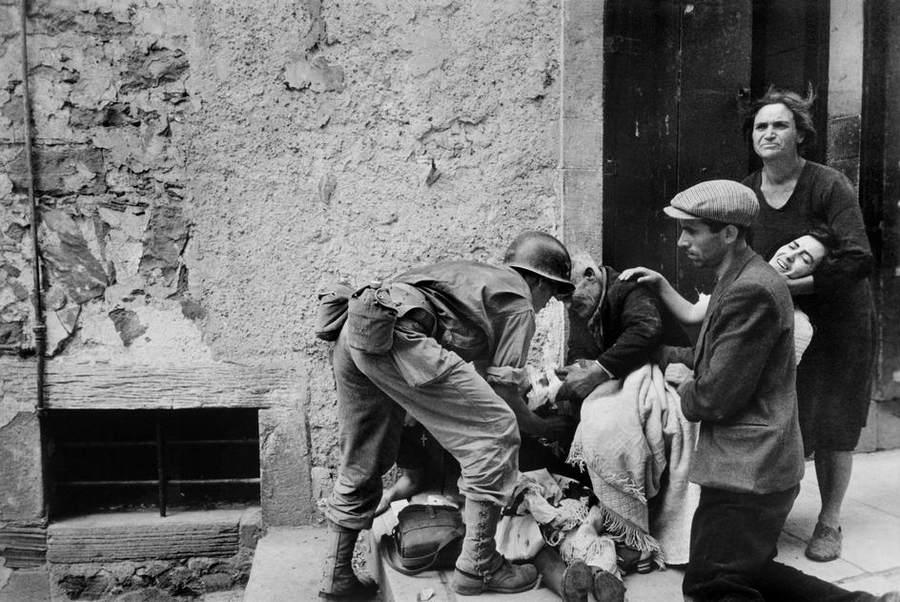 Вторая мировая война в объективе Роберт Капа (Robert Capa) 14