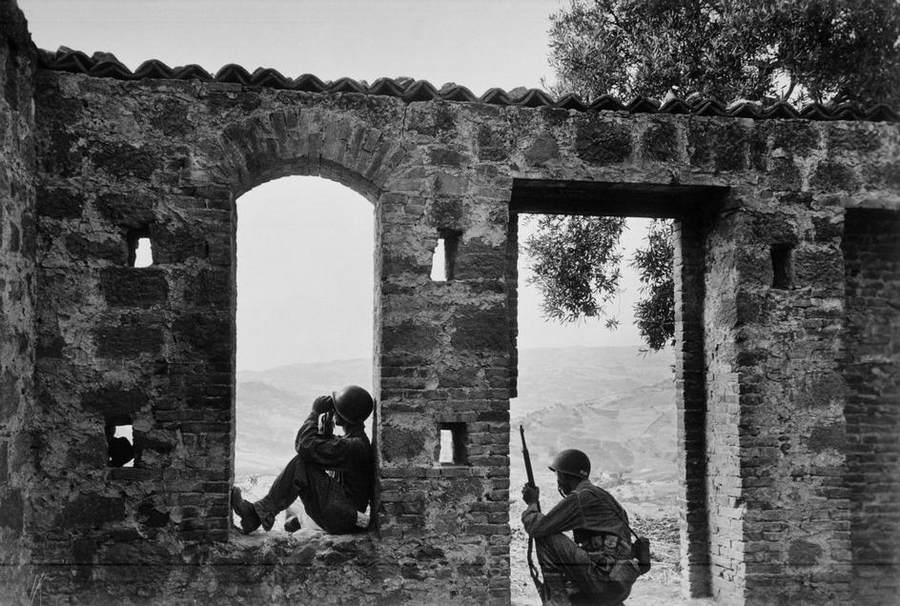 Вторая мировая война в объективе Роберт Капа (Robert Capa) 15