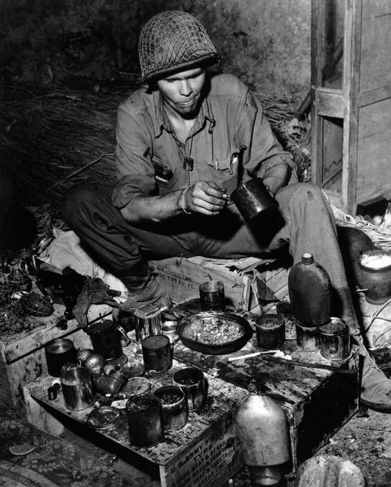 Вторая мировая война в объективе Роберт Капа (Robert Capa) 7