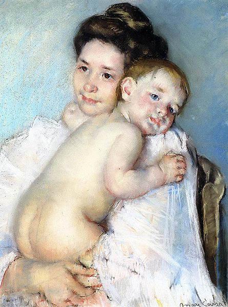 Женский импрессионизм Мэри Кассат (Mary Cassatt) 11