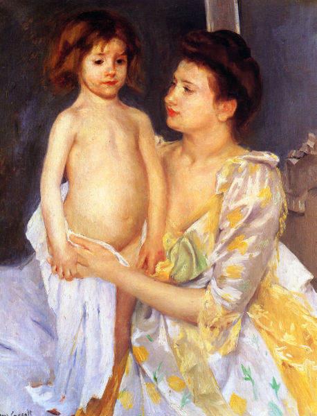 Женский импрессионизм Мэри Кассат (Mary Cassatt) 12