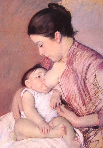 Женский импрессионизм Мэри Кассат (Mary Cassatt) 13