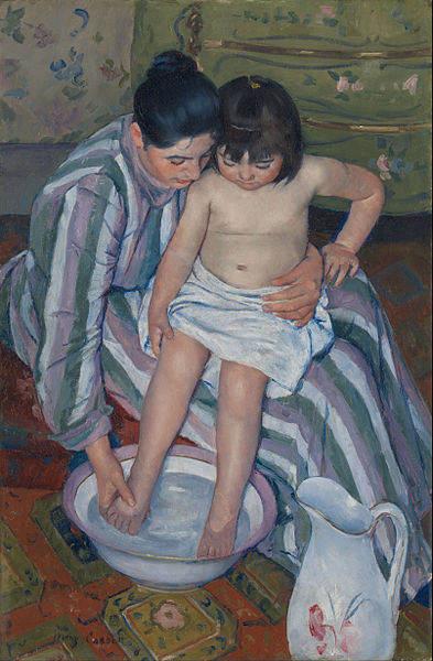 Женский импрессионизм Мэри Кассат (Mary Cassatt) 14