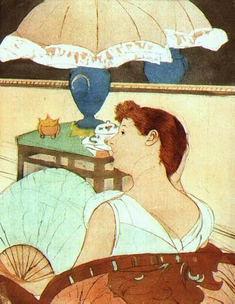 Женский импрессионизм Мэри Кассат (Mary Cassatt) 16