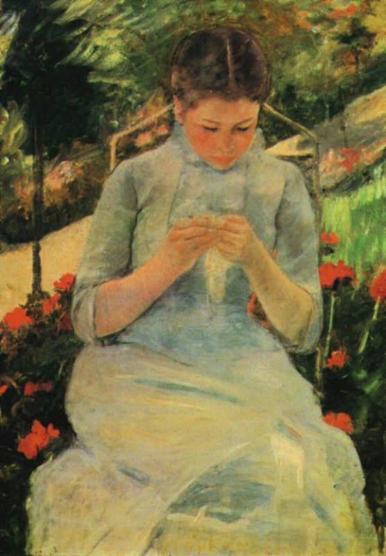 Женский импрессионизм Мэри Кассат (Mary Cassatt) 17