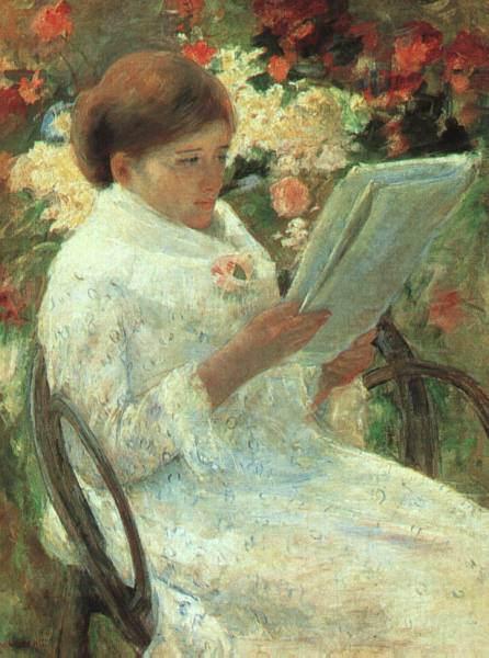 Женский импрессионизм Мэри Кассат (Mary Cassatt) 19