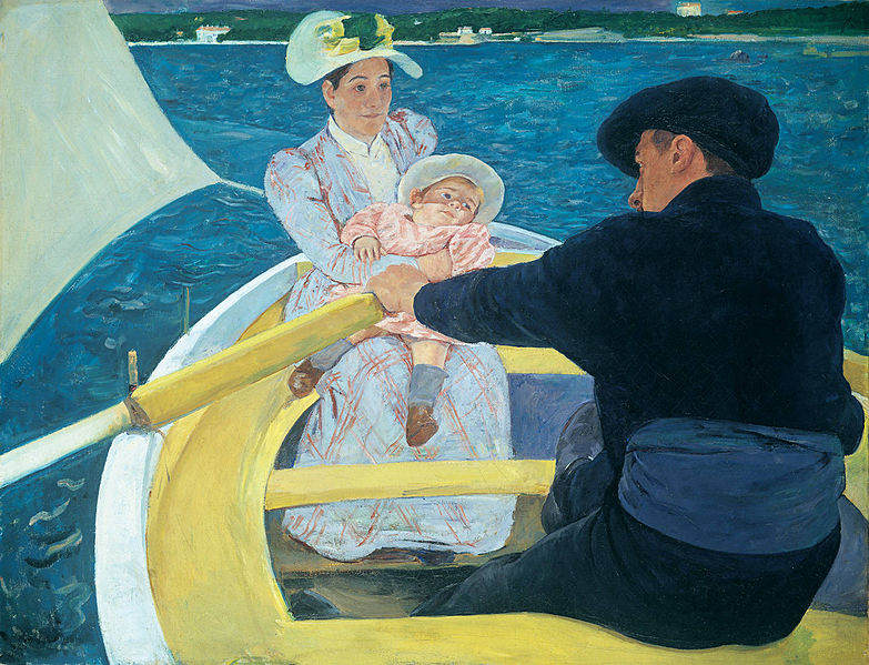 Женский импрессионизм Мэри Кассат (Mary Cassatt) 2