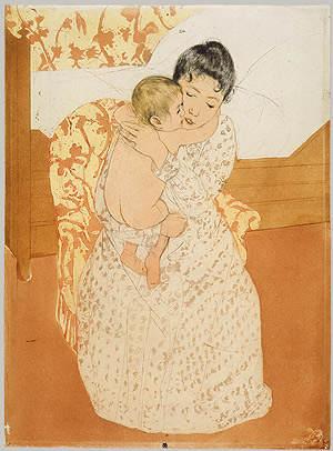 Женский импрессионизм Мэри Кассат (Mary Cassatt) 5