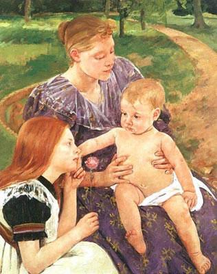 Женский импрессионизм Мэри Кассат (Mary Cassatt) 6