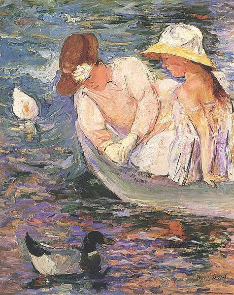 Женский импрессионизм Мэри Кассат (Mary Cassatt) 8