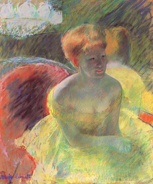 Женский импрессионизм Мэри Кассат (Mary Cassatt) 9