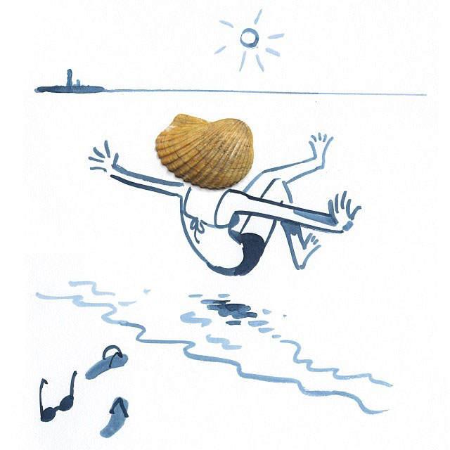 Игра воображения в картинках Кристофа Нимана (Christoph Niemann)