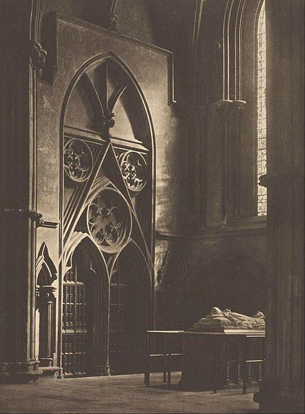 Архитектурная фотография Фредерика Г Эванса (Frederick H Evans) 5