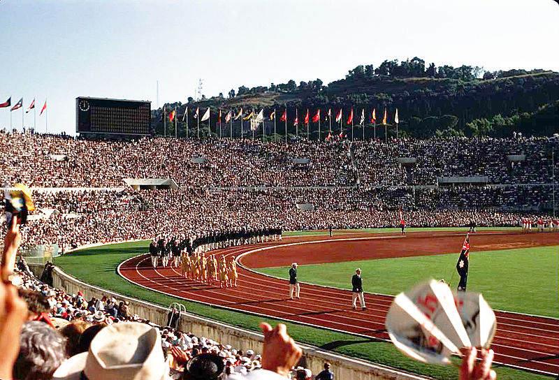 Фотография церемонии открытия XVII Летних Олимпийских игр, 1960