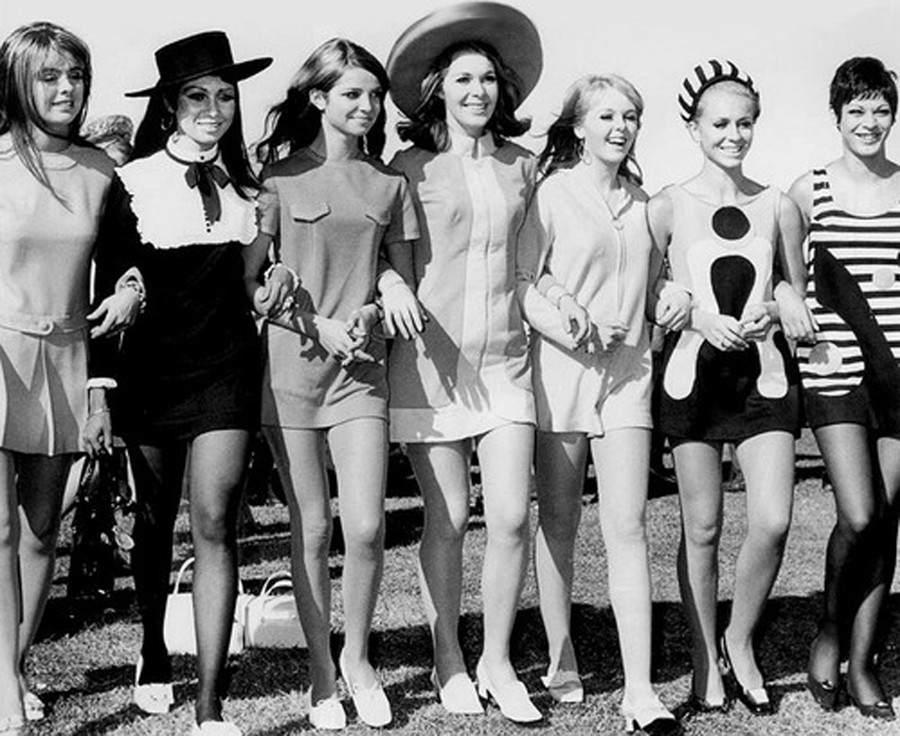 Фотография моды 60-х годов
