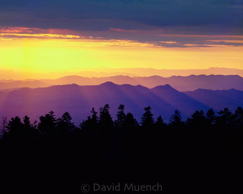 Ландшафтный фотограф Дэвид Мюнх (David Muench) 4