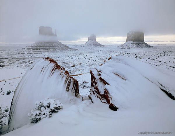 Ландшафтный фотограф Дэвид Мюнх (David Muench)