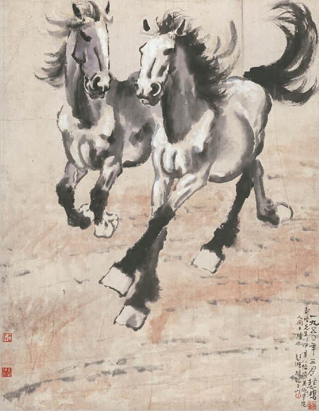 Национальные традиции и современное искусство в работах Сюй Бэйхун (Xu Beihong) 10