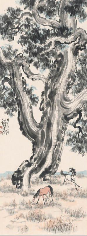 Национальные традиции и современное искусство в работах Сюй Бэйхун (Xu Beihong) 11