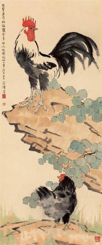 Национальные традиции и современное искусство в работах Сюй Бэйхун (Xu Beihong) 12
