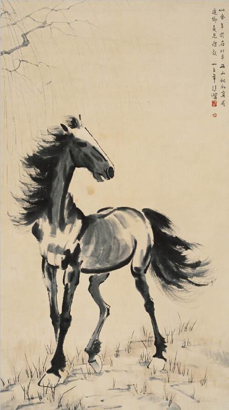 Национальные традиции и современное искусство в работах Сюй Бэйхун (Xu Beihong) 16