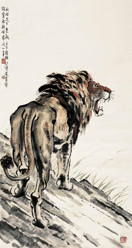 Национальные традиции и современное искусство в работах Сюй Бэйхун (Xu Beihong) 17