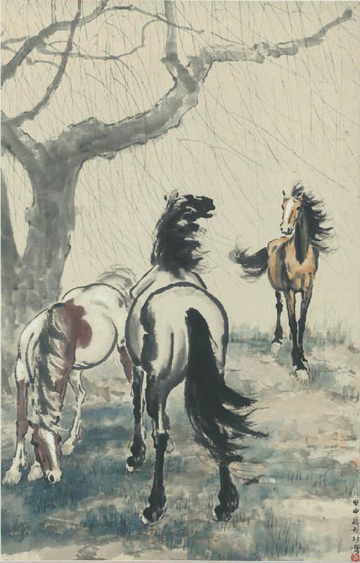 Национальные традиции и современное искусство в работах Сюй Бэйхун (Xu Beihong) 2