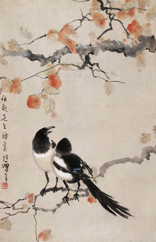 Национальные традиции и современное искусство в работах Сюй Бэйхун (Xu Beihong) 3
