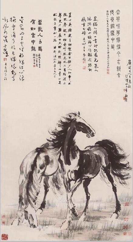 Национальные традиции и современное искусство в работах Сюй Бэйхун (Xu Beihong) 4