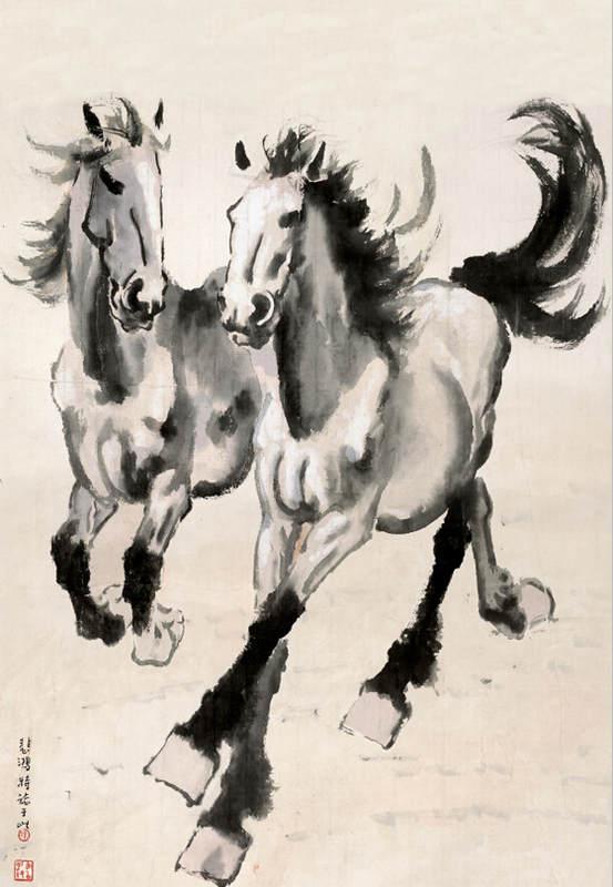 Национальные традиции и современное искусство в работах Сюй Бэйхун (Xu Beihong) 7