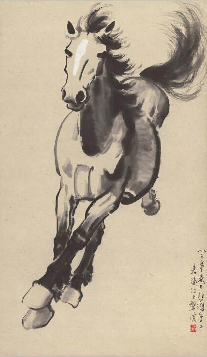 Национальные традиции и современное искусство в работах Сюй Бэйхун (Xu Beihong) 8