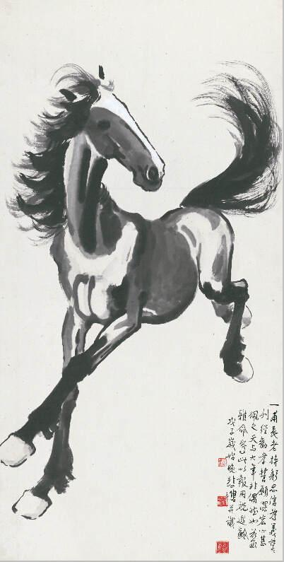 Национальные традиции и современное искусство в работах Сюй Бэйхун (Xu Beihong) 9