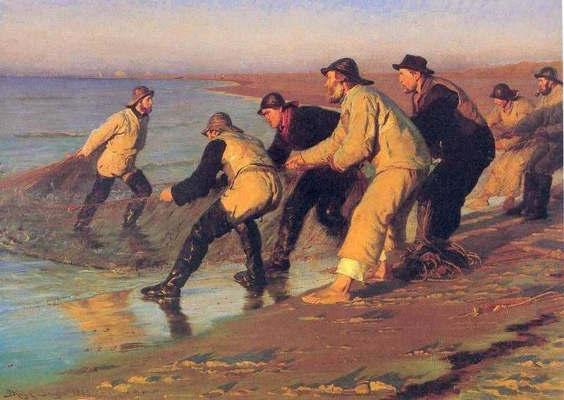 Датский реализм Педер Крёйер (Peder Kroyer) 10