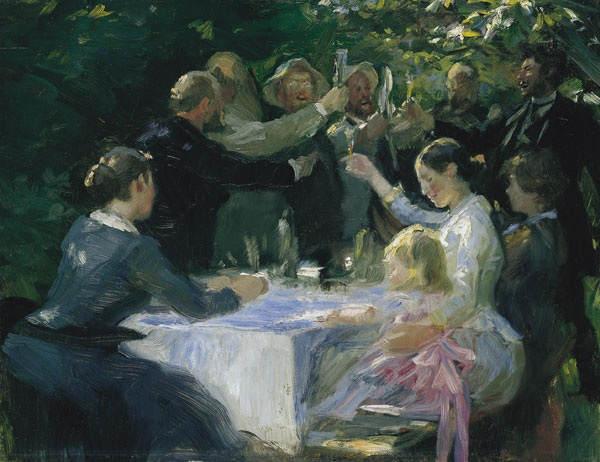 Датский реализм Педер Крёйер (Peder Kroyer) 2