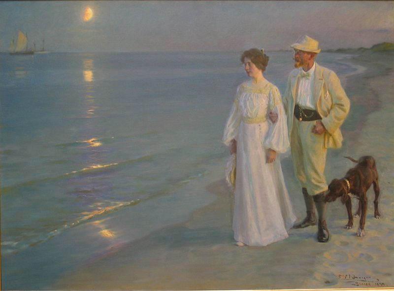 Датский реализм Педер Крёйер (Peder Kroyer) 4