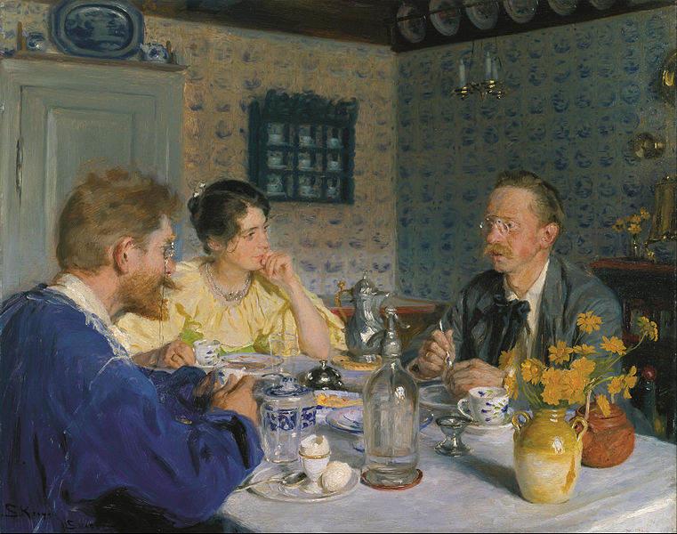 Датский реализм Педер Крёйер (Peder Kroyer) 6
