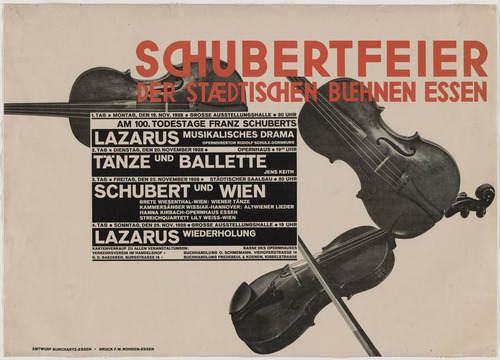 Макс Бурхарц (Max Burchartz) и немецкий конструктивизм