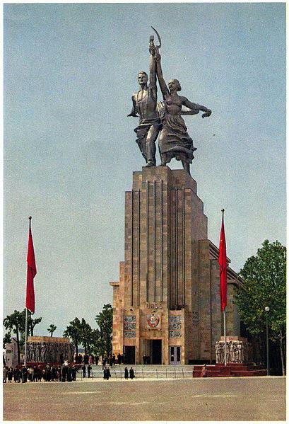 Монументальный идеолог - Вера Мухина 20