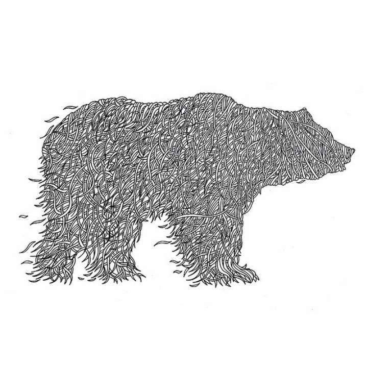 Многоуровневые иллюстрации животныхТьяго Бианчини (Thiago Bianchini) 13