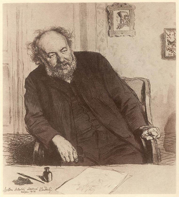 Чешский живописец Макс Швабинский (Max Svabinsky) 11